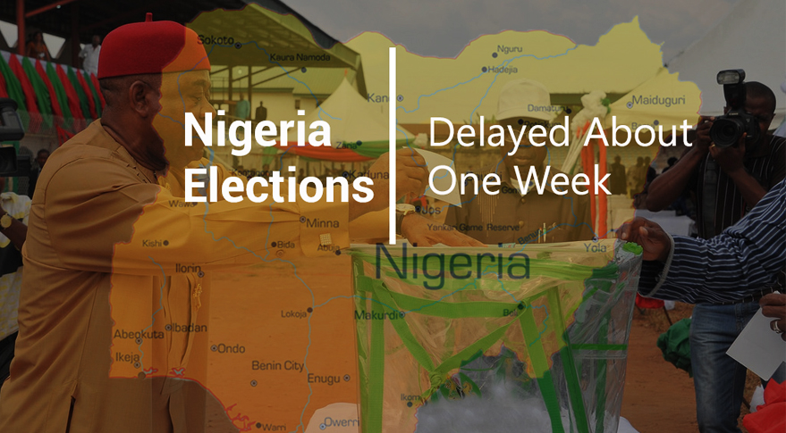 Nigerian Elections Delayed About One Week