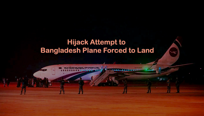 Hijack Attempt to Bangladesh Plane Forced to Land