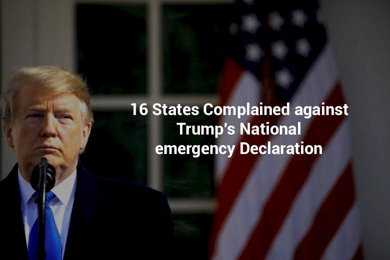 Complaint against Trump's National Emergency Declaration