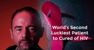 2nd luckiest patient of world being cured from HIV