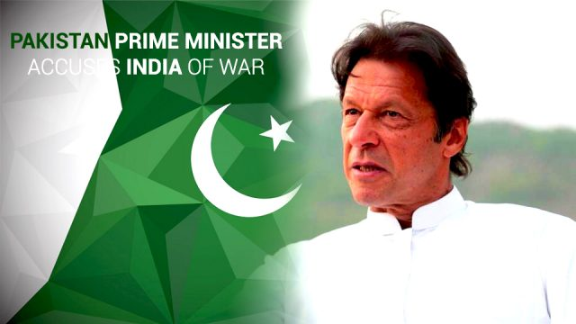 Imran Khan Accused India as War Hysteria of their downed Aircraft Claim
