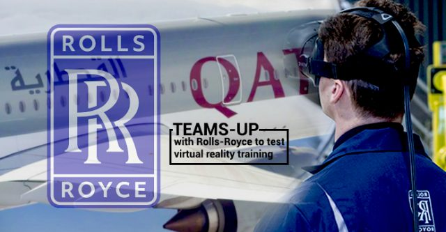 Qatar Airways Collborates with Rolls-Royce to examine VR Reality