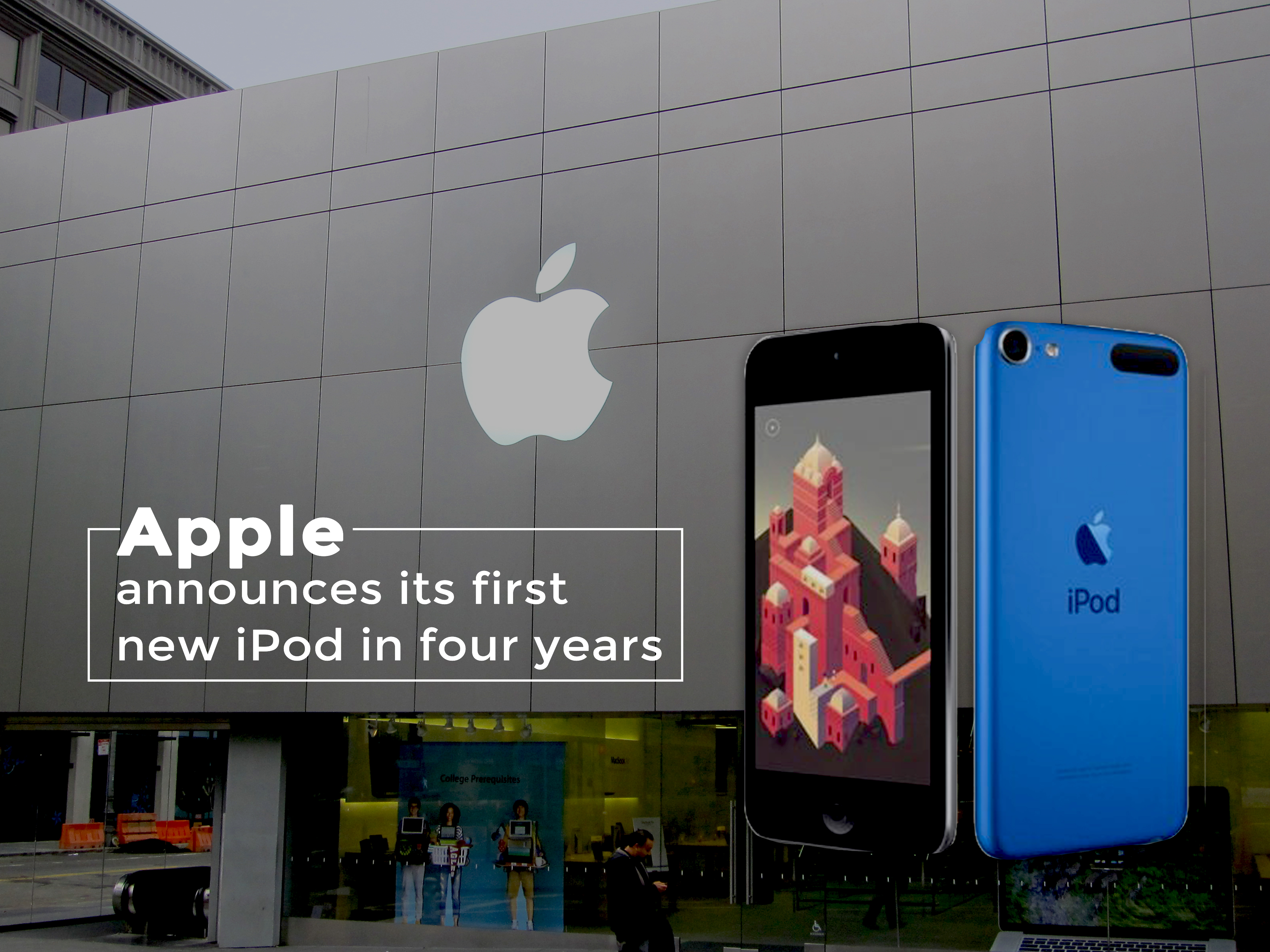 In Last Four Years Apple Announces its First New iPod