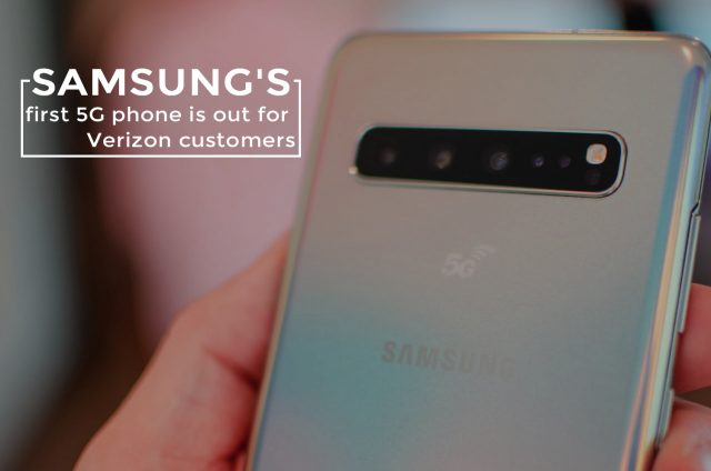First 5G Samsung Smartphone Galaxy S10 Launched