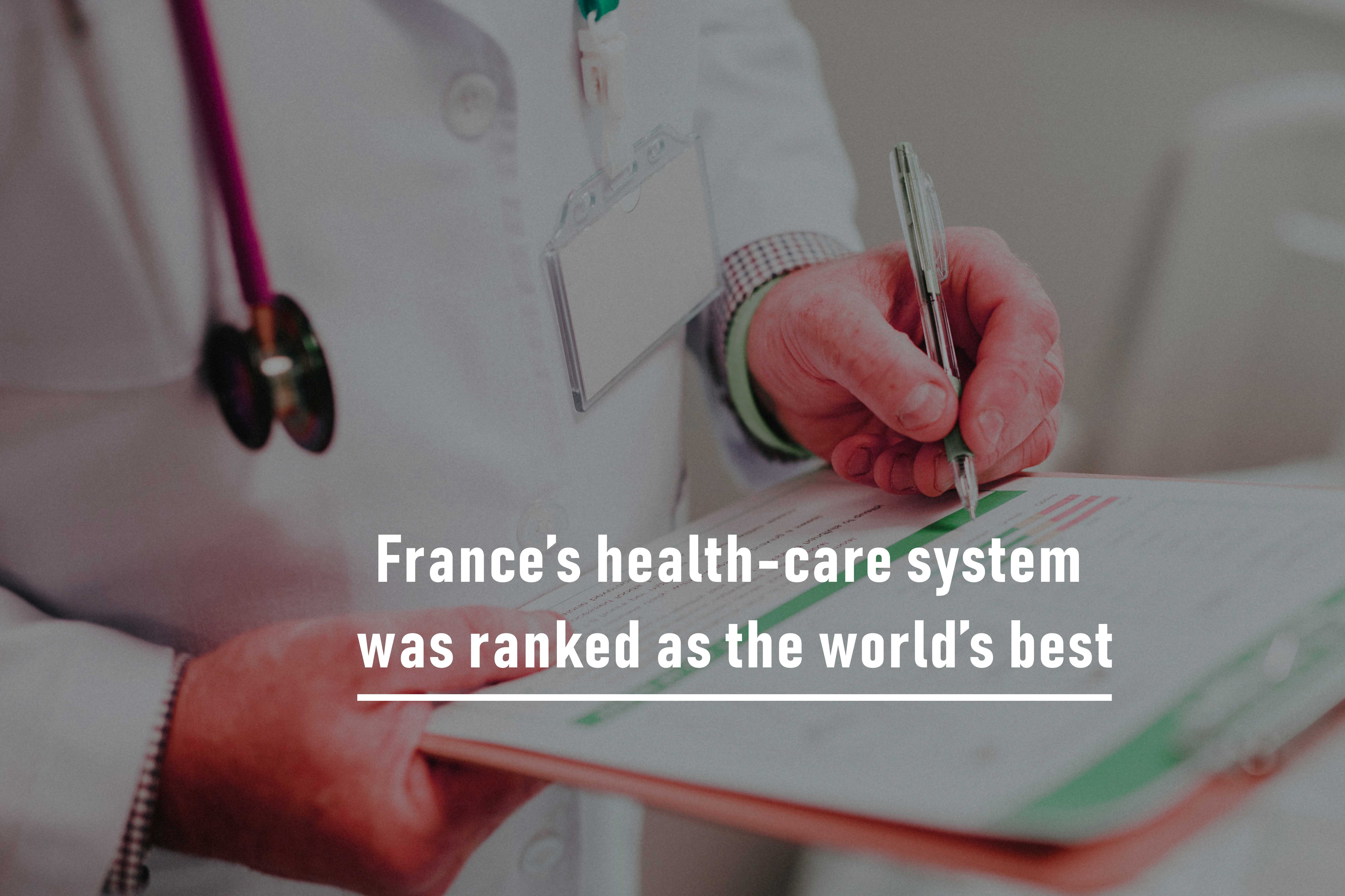 World's best ranked Health-care System of France vs. the US Health-care System