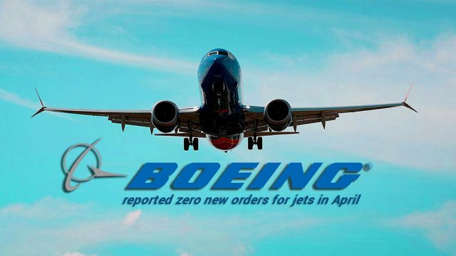 Zero New Jet Orders Reported to Boeing in April 2019