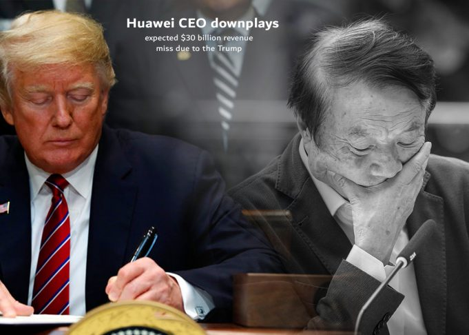 Huawei can miss $30 billion revenue due to Trump ban - CEO