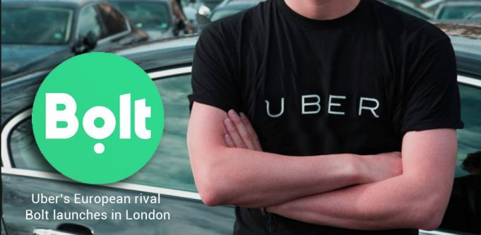 European Rival of Uber, Bolt starts its Services in London
