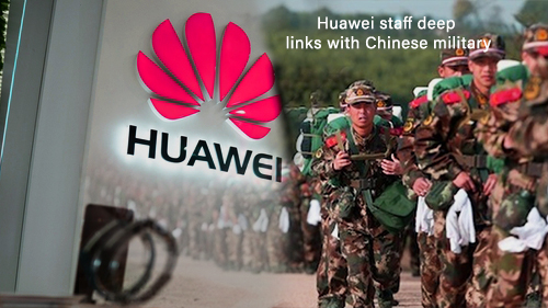 Deeper Links between Huawei Staff & Chinese military