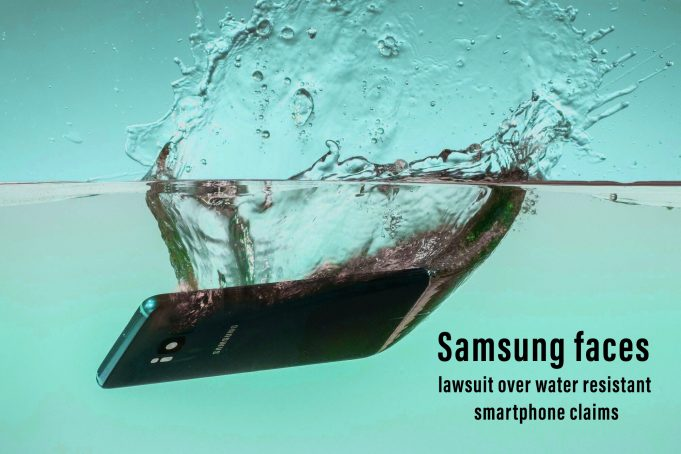 Samsung is Facing Legal Case against claims of Water Resistant Phone