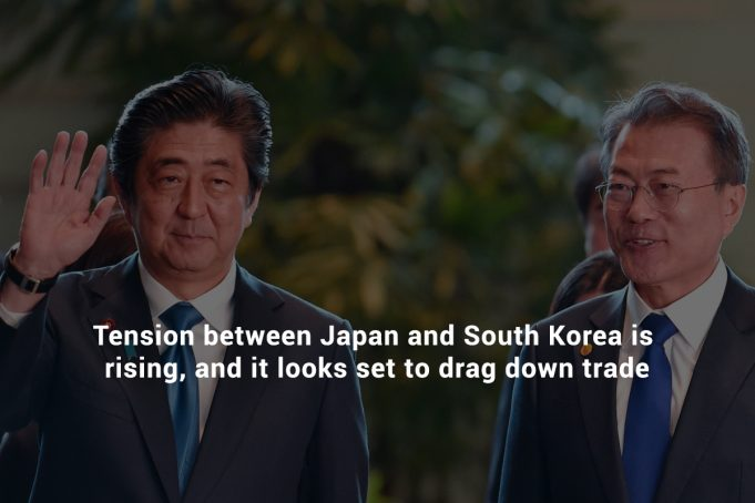 Stress between South Korea and Japan is Rising after Export Restrictions