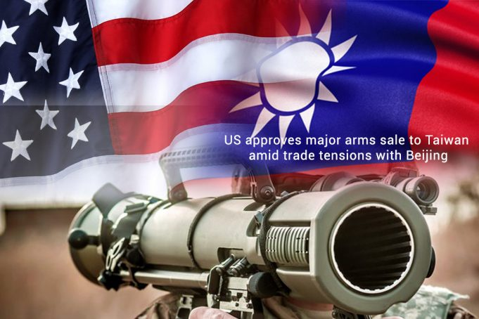 United States Approved Sale of Potential Arms to Taiwan