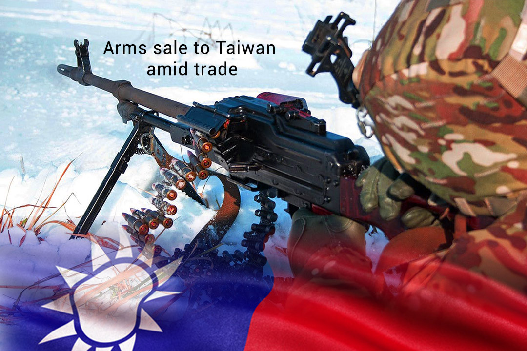 United States Approved Potential Arms sale to Taiwan