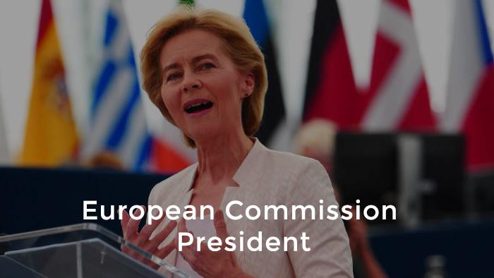 von der Leyen elected as first female European Commission President