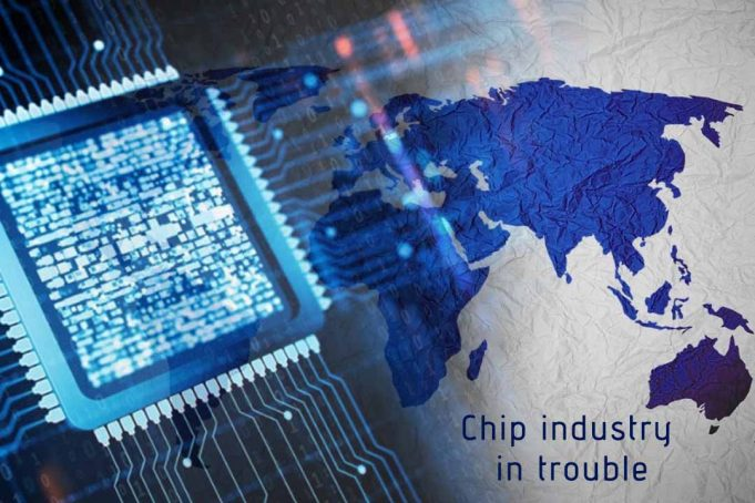 Worldwide Trade tensions cretaes Uncertainty for Chip Industry