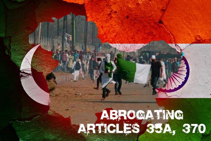 India Decided to Terminate the Special Status of Occupied Kashmir