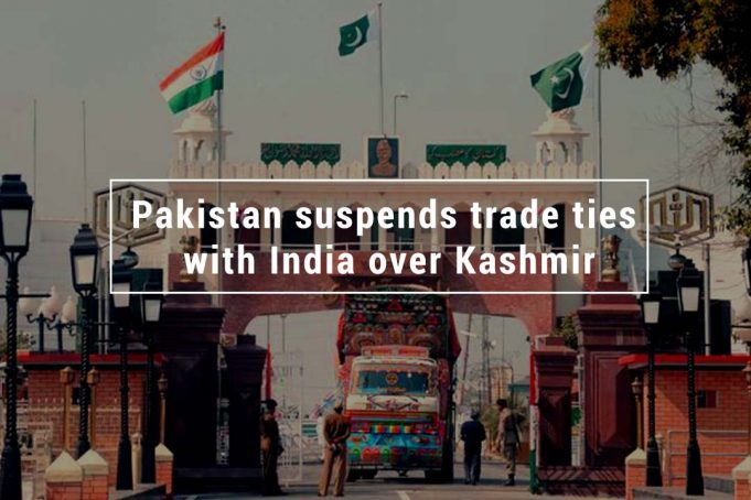 Over Kashmir Dispute Pakistan Suspended Trade ties with India