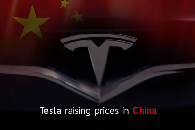 Electric carmaker Tesla might increase its Prices in China