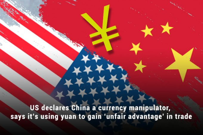 US Treasury Department Labeled China as a Currency manipulator