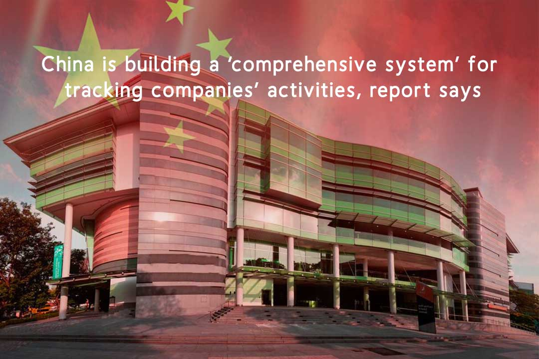 China is Creating Inclusive System to Track Firms' activities