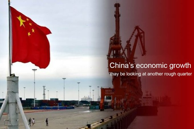 Economic Growth of China at the Weakest level so far