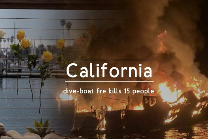 Fire in California dive-boat kills fifteen People & many missing