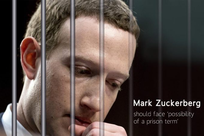 Zuckerberg Might face Possibility of a Prison Term for misuse user data