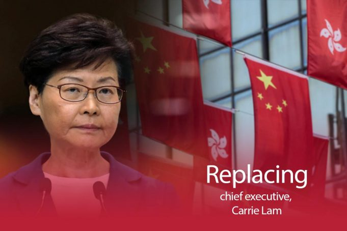 Beijing making plan to replace Carrie Lam of Hong Kong by March