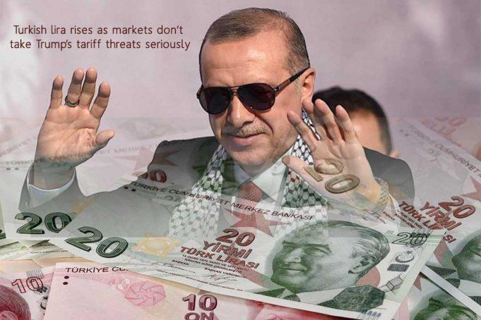 Dollar loses 1% worth against Turkish Lira despite Trump's Tariff's Threat