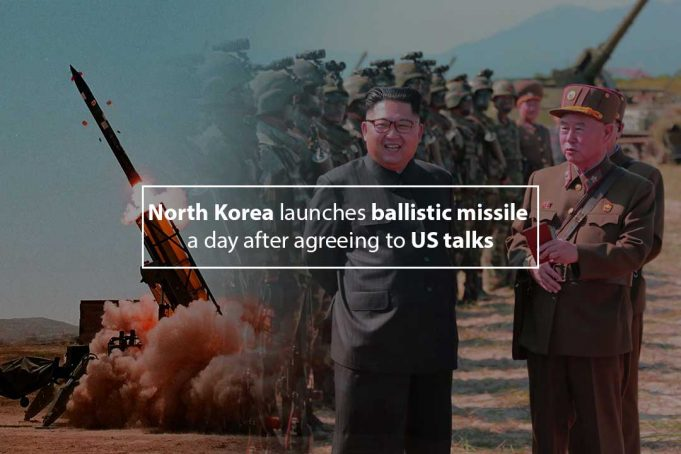 North Korea ballistic missile landed exclusive economic zone of Japan