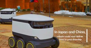 Robots Could Sooner Deliver Food to Doorstep in Japan and China