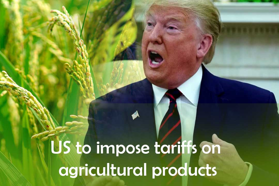 U.S. to put Duties on EU agricultural products and aircraft