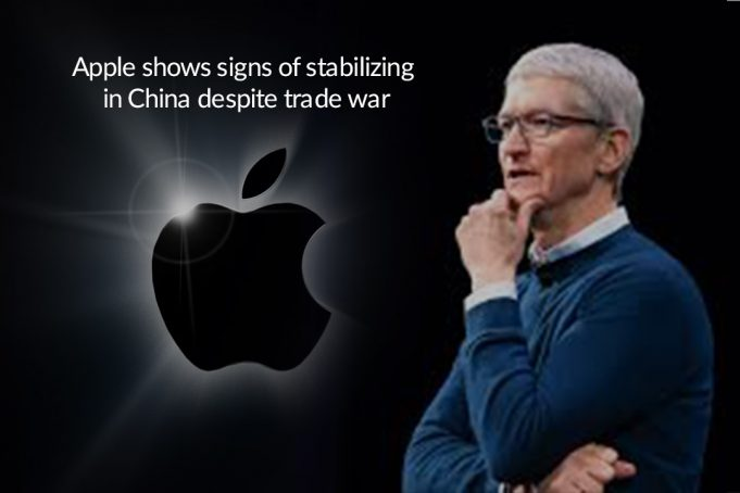 Apple Shows Stabilizing Signs in China despite Trade Dispute