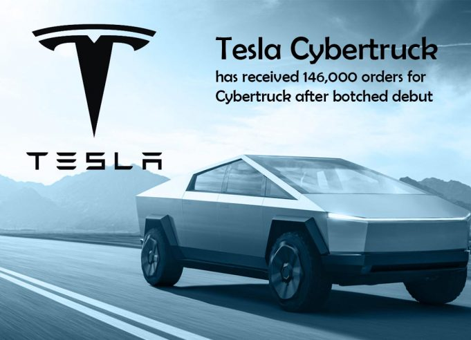 Elon Musk claimed Tesla Received about 146,000 orders for Cybertruck
