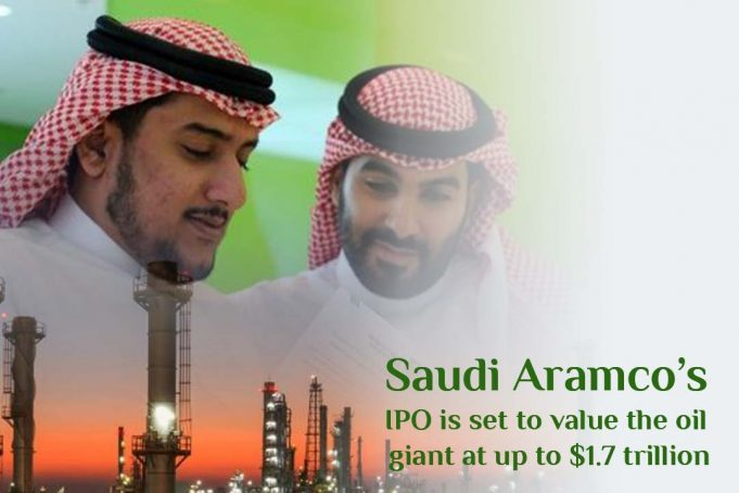 Saudi Aramco's IPO weighs the oil giant at more than $1.7 trillion