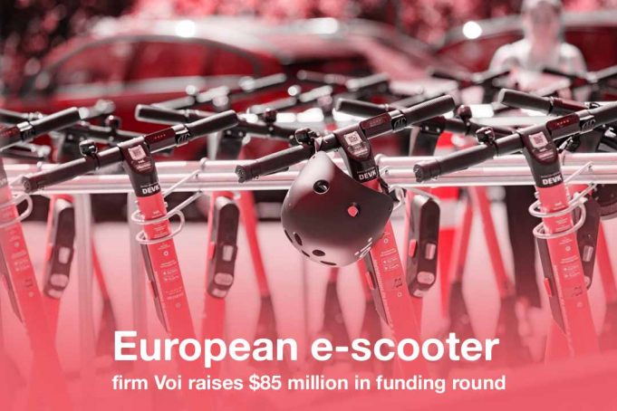 Voi, e-scooter firm raises 85 million dollars in funding round