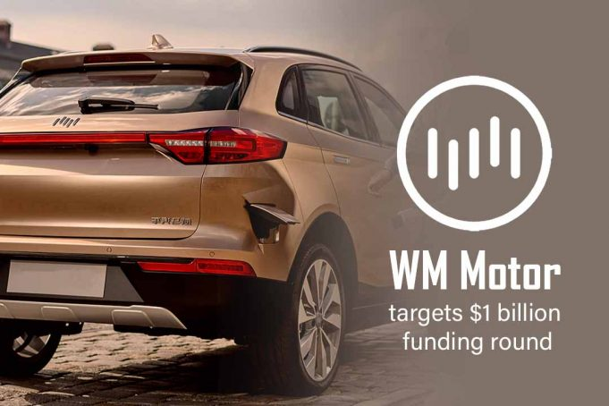 WM Motor, E-car manufacturer targets $1 billion funding round
