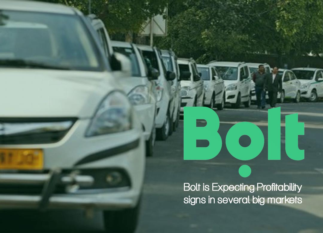 Bolt is Expecting Profitability signs in several big markets