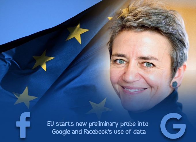 EU started preliminary inquiry into Facebook & Google's Data Practices