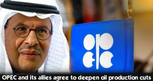 OPEC along with its allies planned to expand oil production cuts