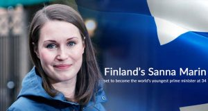 Finland's Sanna Marin selected to become the Youngest PM of the World